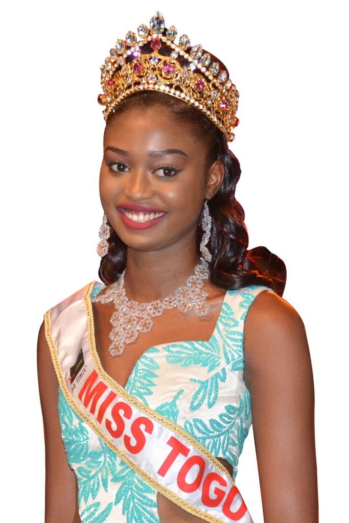 Miss Togo 2017 - Cornelia Dedevi ADOMAYAKPO